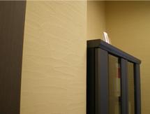 珪藻土を使用したオフィス