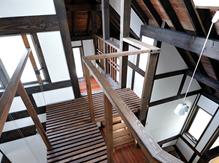漆喰を使用した住宅