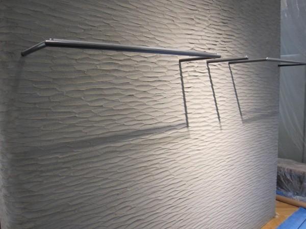 風紋柄の壁別アングル画像