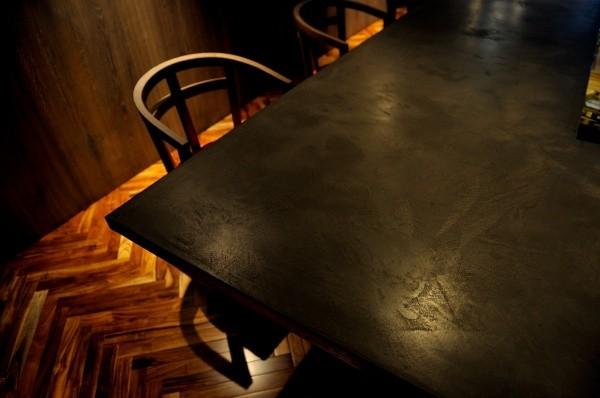 モールテックスカウンターテーブル黒
