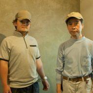 当社のベテラン職人中島さんと見習工の熊崎さん