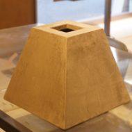 モールテックスで仕上げたランプシェード