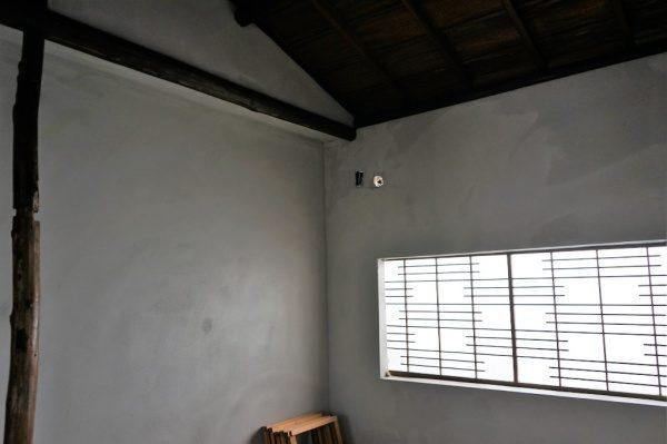 施工前の現場内部