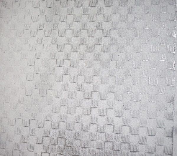 デザインメッシュを埋め込んだ白いのポリーブル仕上げ