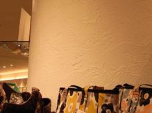 漆喰を使用した店舗