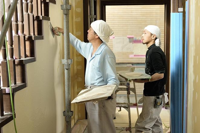 写真:OJTによる職人育成制度
