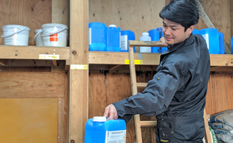 写真:倉庫管理の仕事