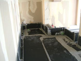 室内の防水はお任せ下さい!