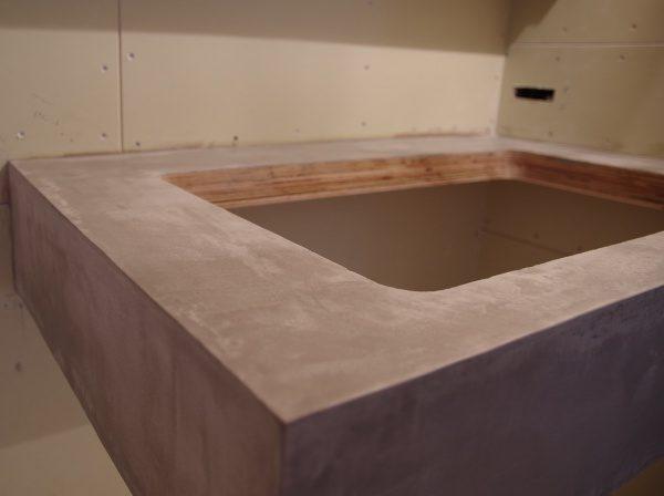 BEAL・モールテックス仕上げ 洗面台