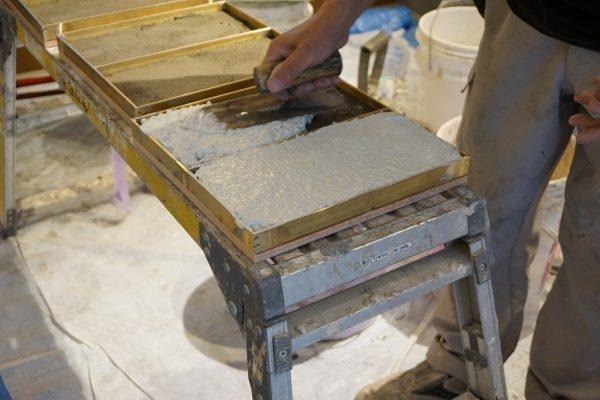 材料塗り込み