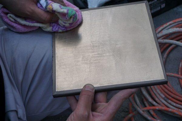 ピカピカな真鍮が仕上がりました