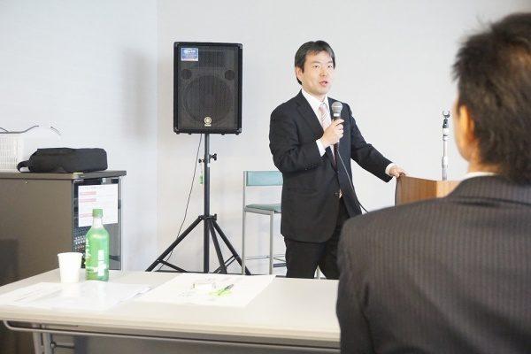 東京都タイル技能士会での講演