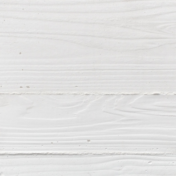 白の浮造り木目モルタル