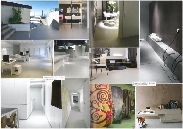 オルトレマテリア OLTREMATERIA 12種類の施工例画像、床・壁・天井、ガラス・鉄