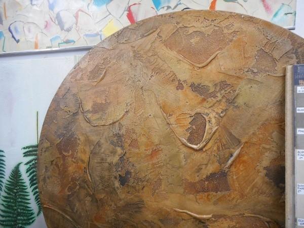 オルトレマテリア OLTREMATERIA 施工例樹皮のような見た目