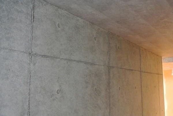 コンクリート打ち放し風仕上げの施工例