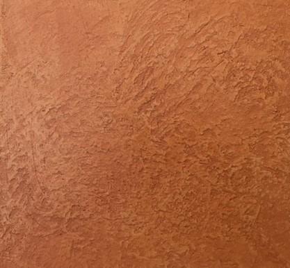 オルトレマテリア、鏝で荒らした表面を研磨したサンプル