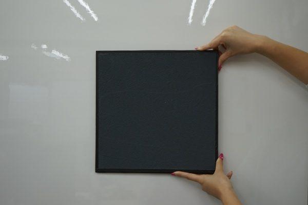 マグネットプラスターを塗った見本板