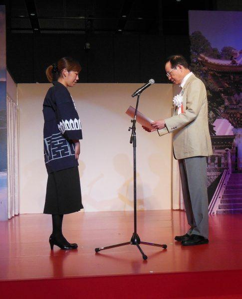 当社の福吉奈津子が「匠なでしこ」として表彰されました