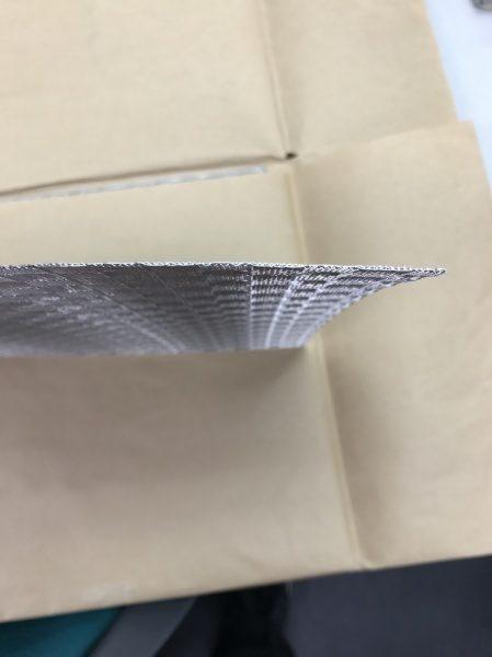 金属のデザインメッシュ素材の厚さ