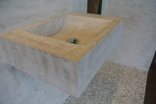 モールテックス手洗い台