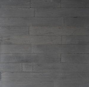 ダークグレーうづくり木目モルタル仕上げ暗めの灰色モルタル生地