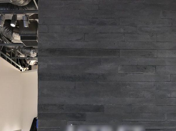 うづくり木目モルタル施工アパレル店舗
