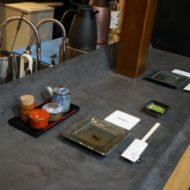 モールテックスを和食店のカウンターに施工