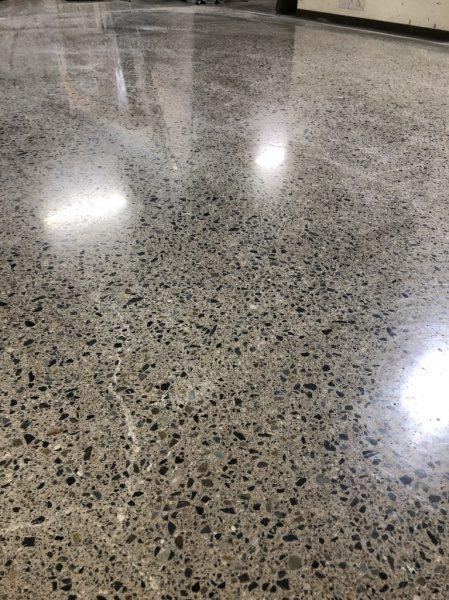 床コンクリート テラゾ仕上げ