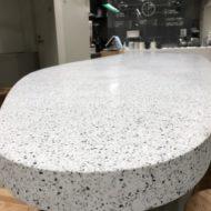 BAELSTONE 楕円テーブル アップ