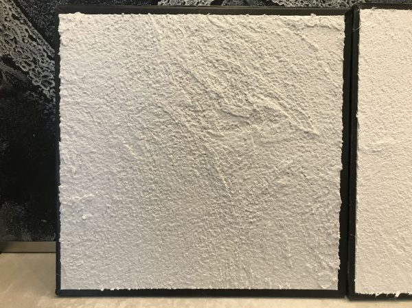 ジョリパット アートランダム模様 白