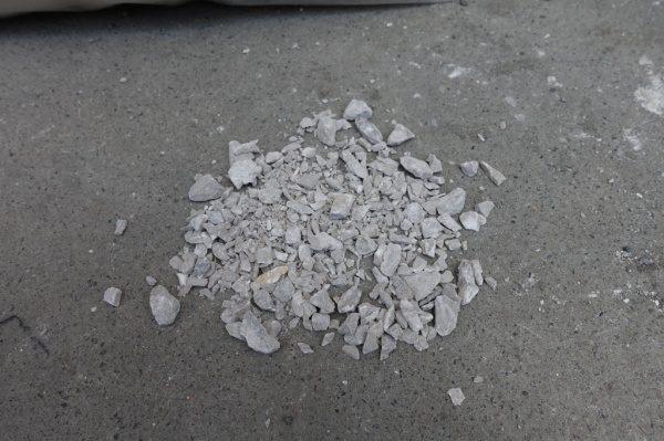 砕石 グレー
