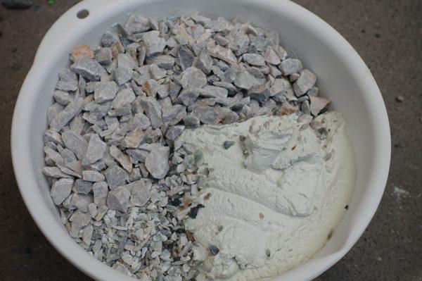 砕石 大 小 白セメント