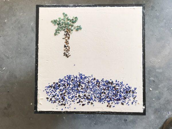 ワークショップ「漆喰を作る」