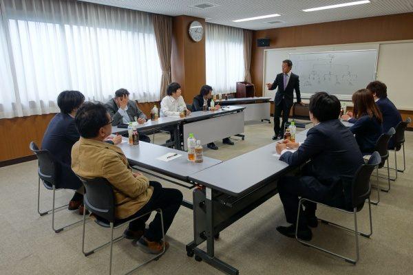 原田左官 ビジネスマナー研修
