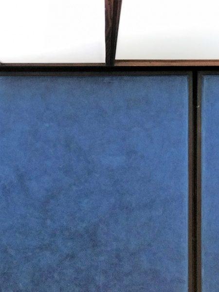 カステルベッキオ スタッコ仕上げ 青
