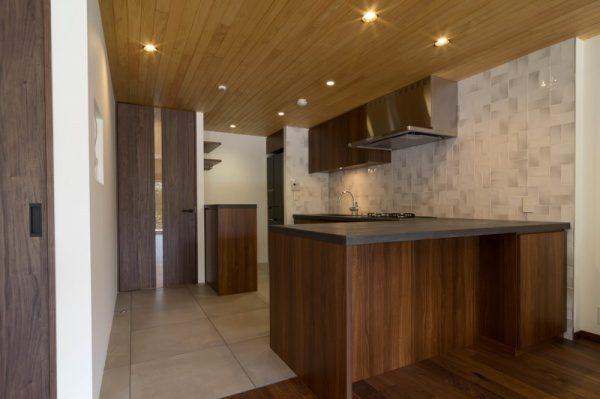 モールテックス キッチンカウンター天板に施工 グレーBM57
