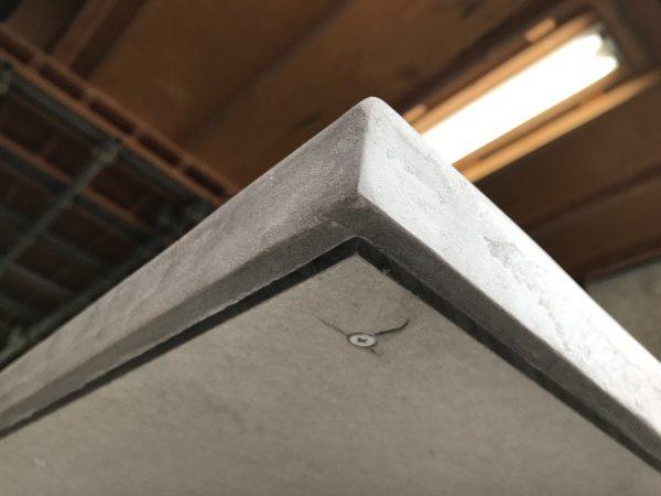 モールテックスグレー 天板に施工