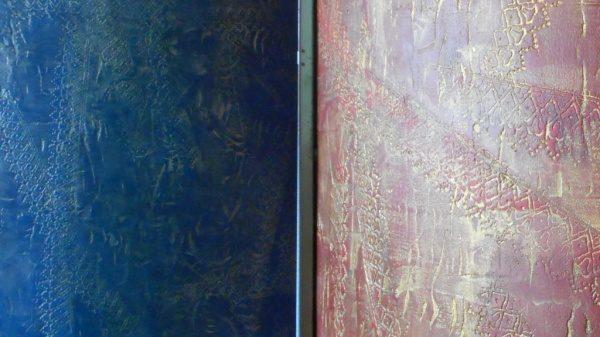 オルトレマテリア 青+銀 赤+金