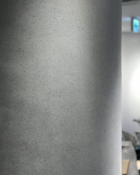 ビールストーンホワイトカラーチャート丸柱