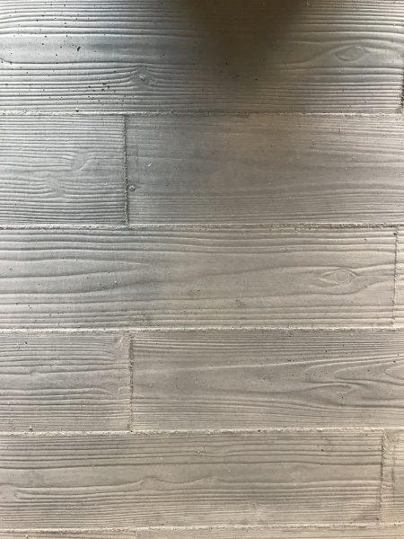 うづくり木目モルタルで施工したパネル