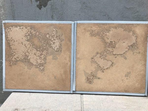 土壁ムラ仕上げサンプル見本2種類