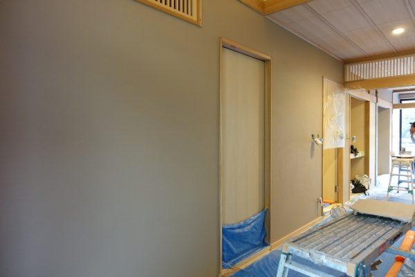 珪藻土アレンジフラット仕上げの室内壁