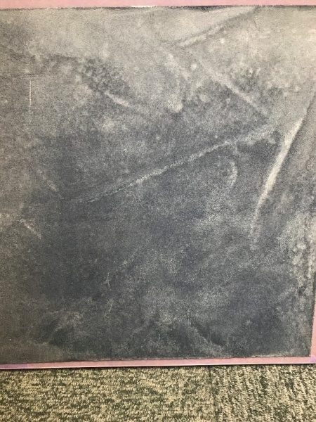 モールテックスインディゴ染め仕上げの見本板
