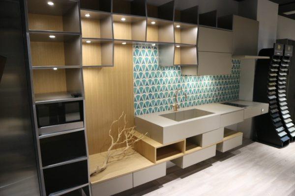 タニコー TOKYO Kitchen Gallery オルトレマテリアのキッチンシンクや引き出しや戸棚
