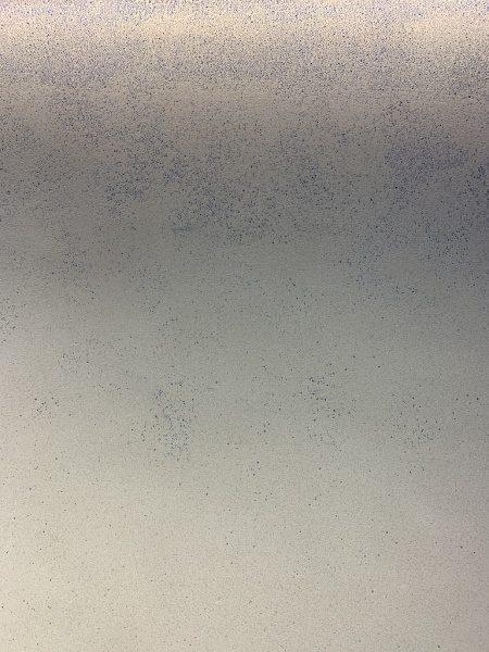 ドライウォッシュ青ガラスグラデーション