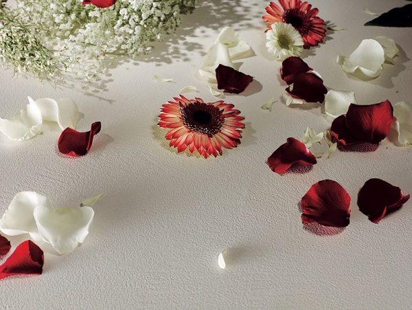 オルトレマテリアの仕上げイメージ、花が多数散りばめられている