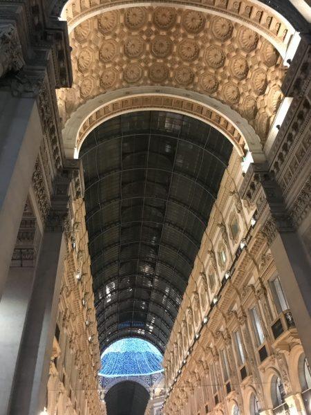 ミラノのガレッリア