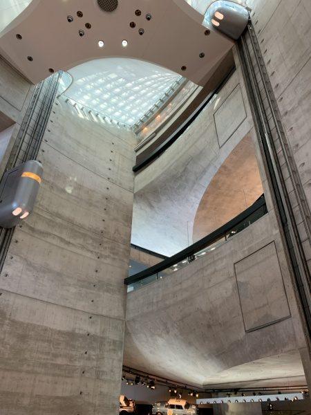 ドイツのメルセデスベンツミュージアム