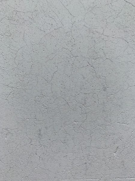 漆喰押さえの原田左官第2倉庫の外壁。拡大画像
